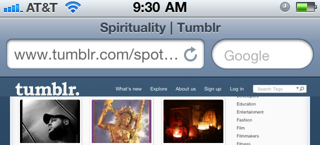 Tumblr Spotlight – Spirituality