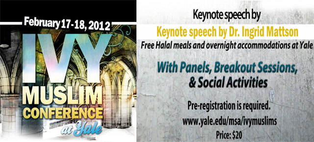 "3rd Annual ""Ivy Muslim Conference"" at Yale"