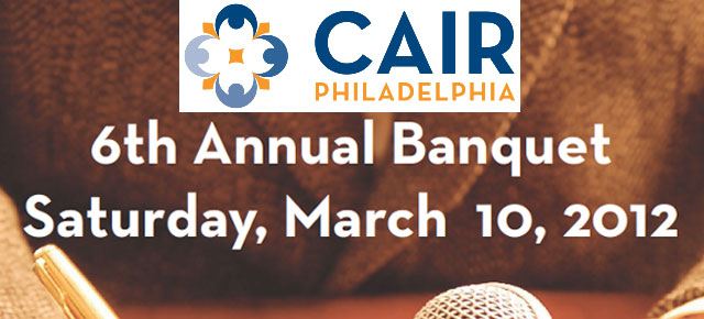 CAIR-Philly 2012 Banquet